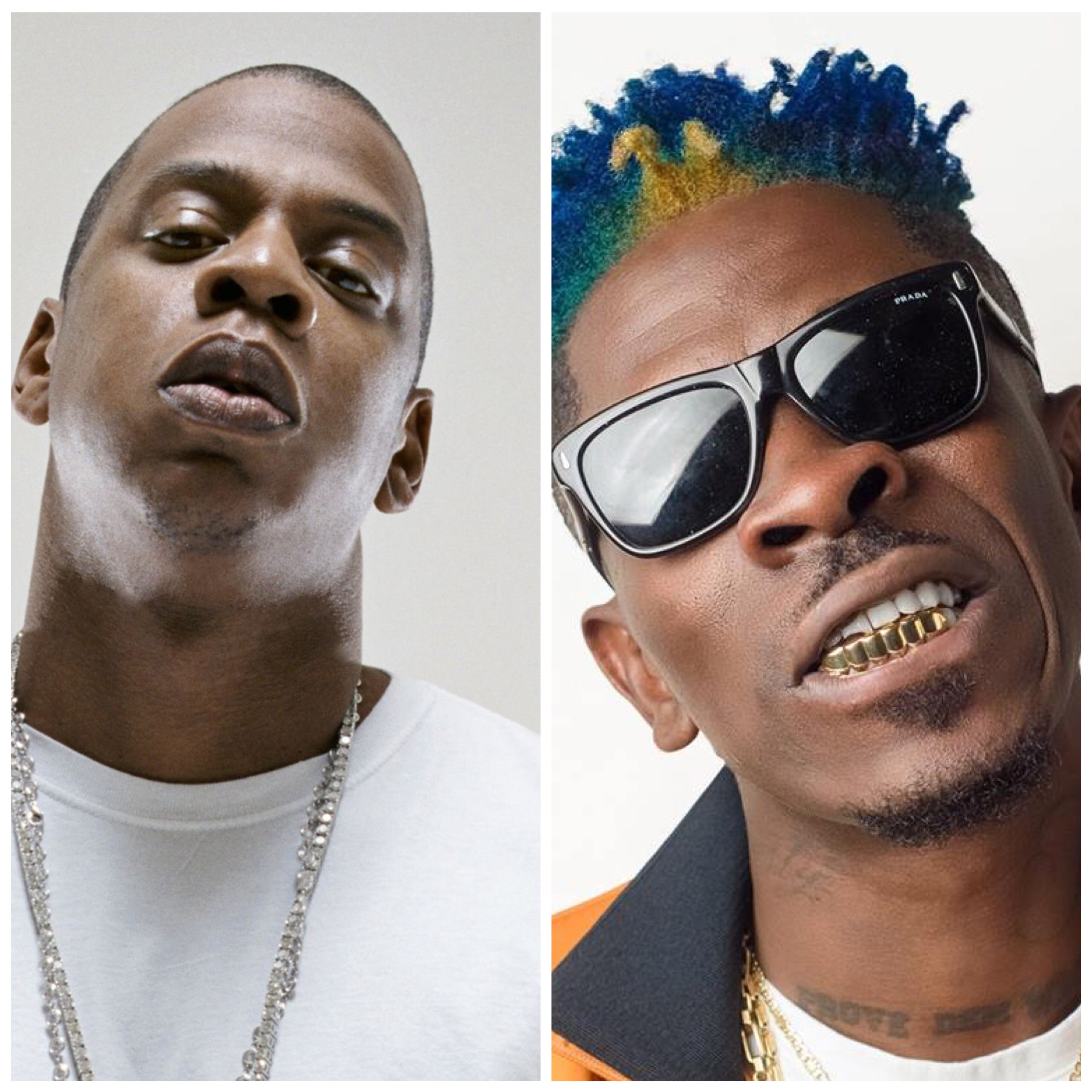 When I go to the BET I willl sit with Jay Z~ Shatta Wale brags.