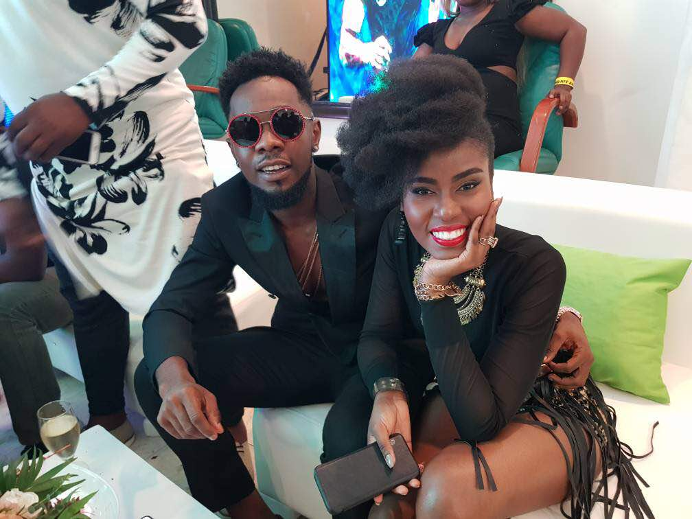 IMAGES: Mzvee shows class at inaugural NFF Awards in Nigeria