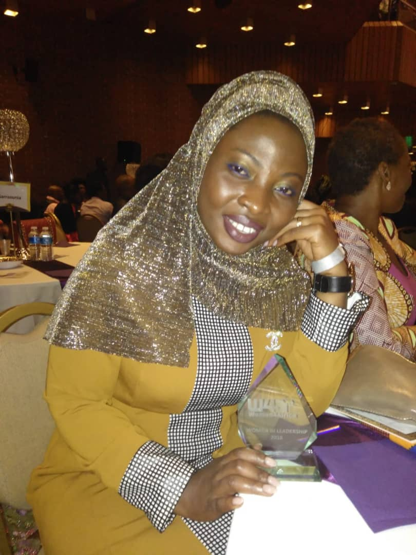 Ms Naeema Ahmed wins at Women4Africa Awards