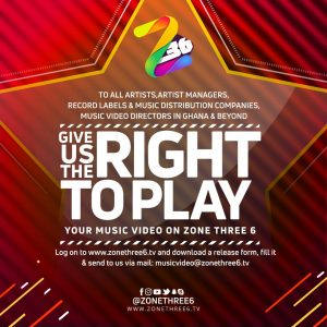 Give Zone Three 6 the Right ToRELEASE Play Your Music Video