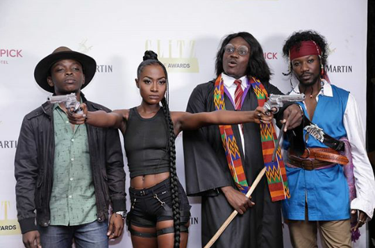 Tomb Raider, Harry Potter, Maleficent Attend Glitz Style Awards Pre-Party Last Night