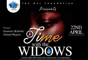 The Dei Foundation To Celebrate Easter with Widows