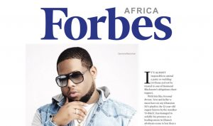 D-Black featured in Forbes Africa magazine