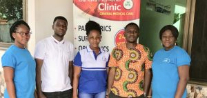 BOAYEN SIGHT SAVERS GHANA(B.S.S.G) COLLABORATES WITH DARKWA MEMORIAL CLINIC FOR A FREE MEDICAL SCREENING