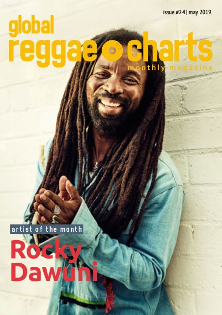 """Rocky Dawuni Wins Global Reggae Charts """"Artist of The Month"""" For May"""