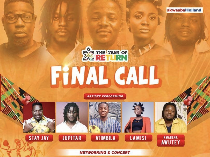 """Stay Jay and Others to Perform at """"Final Call"""" Concert in Amsterdam"""