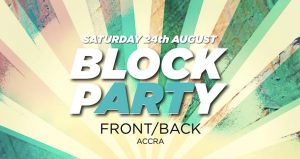 Front/Back Lounge to Hold Block Party