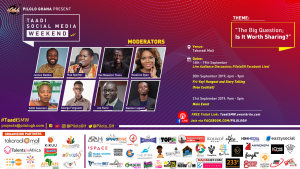 PILOLO GHANA TO HOLD FIRST EDITION OF TAADI SOCIAL MEDIA WEEKEND