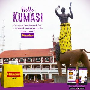 Homechow enters Ashanti Region with one-week free delivery