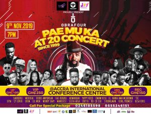 All Set For Pae Mu Ka at 20 Concert…Guess Who's Your Official MC And DJ For The Night?