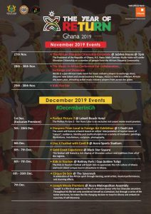 """""""Year of Return"""" Progress Report and Event Line-Up for December Which Includes Rapperholic '19"""