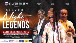 "Silver Fm Presents ""Silver  Night With The Legends"""