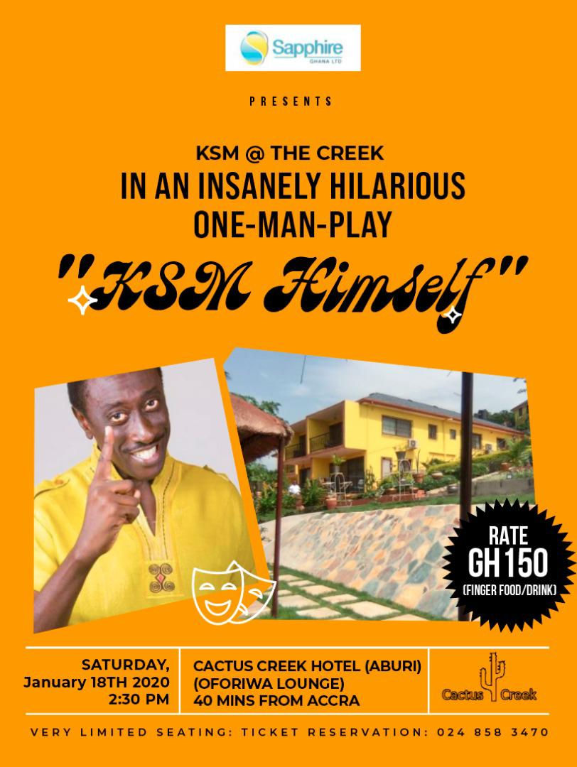 KSM Comes Off With A 'One-Man-Play'