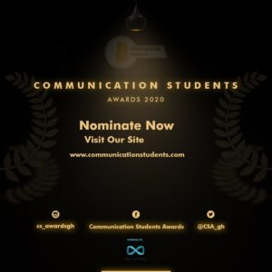 Communication Students' Awards Opens Nominations