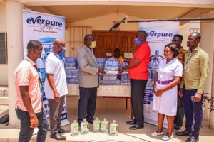 Coronavirus : Everpure Ghana Limited Supports Frontline Service Providers