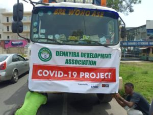 Denkyira Development Association Joins The Fight Against COVID-19