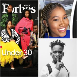 Forbes Africa #30Under30 List – Ghanaian Video Director Scilla Owusu and Mr Eazi Listed