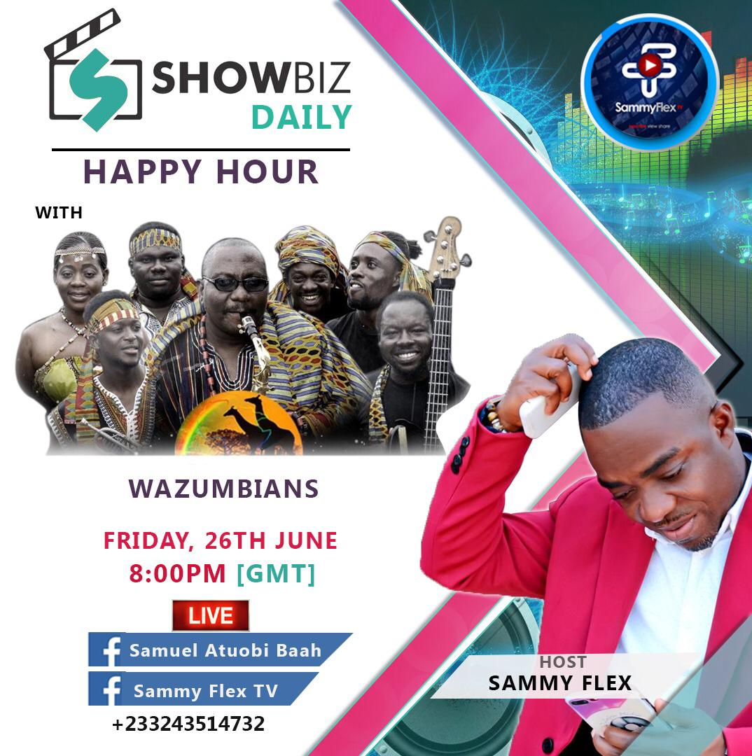 Sammy Flex TV Introduces Live Performances On Fridays On Showbiz Daily