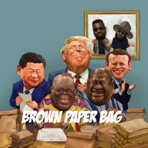 "Sarkodie Preaches Against Mental Slavery In New Song ""Brown Paper Bag"" Ft. M.anifest"
