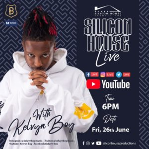 Kelvyn Boy To Bless Fans With Virtual Concert Tomorrow